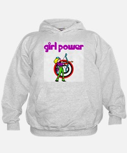 Girl Power Archery Hoodie