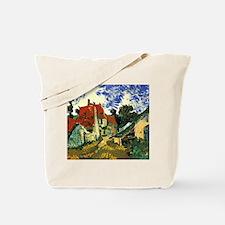 Van Gogh Villages Street in Auvers Tote Bag