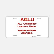 all communist lawyers.png Aluminum License Plate
