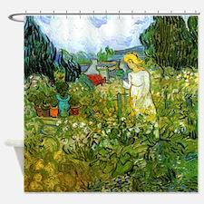 Van Gogh Marguerite Gachet in the Garden Shower Cu