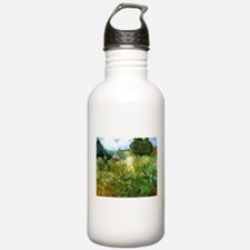 Van Gogh Marguerite Gachet in the Garden Water Bottle
