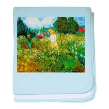 Van Gogh Marguerite Gachet in the Garden baby blan
