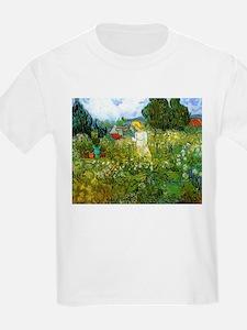 Van Gogh Marguerite Gachet in the Garden T-Shirt
