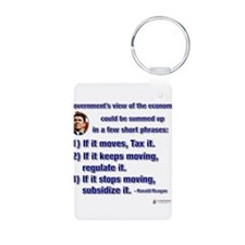 reagan govt view of economy.png Keychains