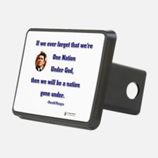reagan nation under god.png Hitch Cover