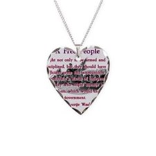 a free people.png Necklace