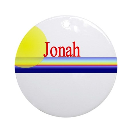 Jonah Ornament (Round)