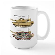M1A1 Abrams Cutaway Mug