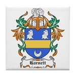 Harnett Coat of Arms Tile Coaster