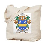 Harnett Coat of Arms Tote Bag