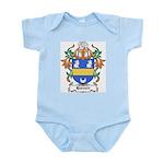 Harnett Coat of Arms Infant Creeper