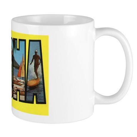 Hawaii Aloha Greetings Mug