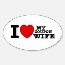 I love my Coupon Wife Decal