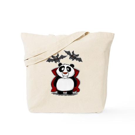 Vampire Panda Tote Bag