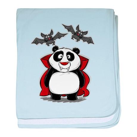 Vampire Panda baby blanket