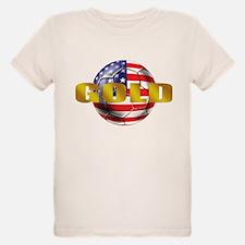 USA Soccer Gold T-Shirt