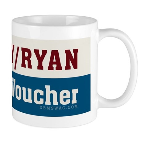 Romney/Ryan Vulture/Voucher Mug
