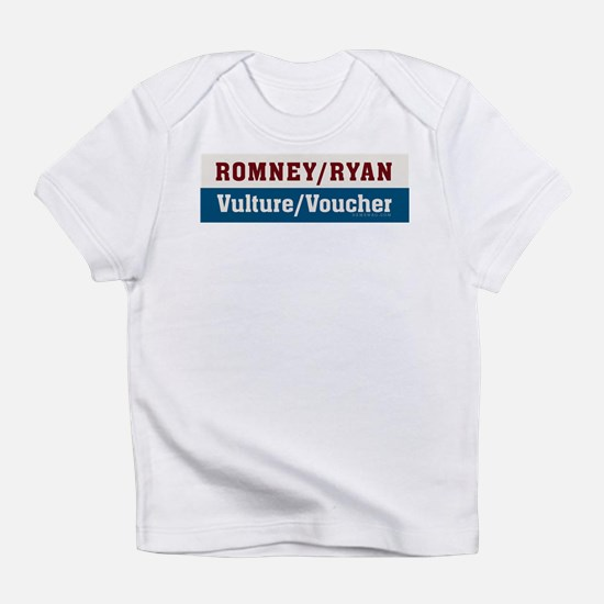 Romney/Ryan Vulture/Voucher Infant T-Shirt