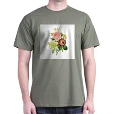 Pierre-Joseph Redoute Flowers T-Shirt