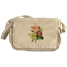Pierre-Joseph Redoute Flowers Messenger Bag