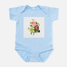 Pierre-Joseph Redoute Flowers Infant Bodysuit