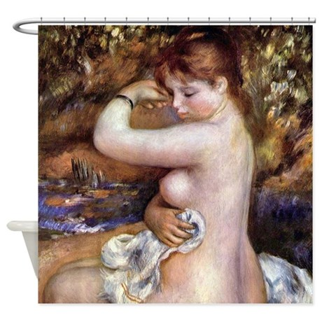 Renoir After The Bath Shower Curtain