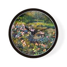 Renoir Rose Grove Wall Clock