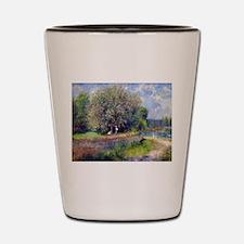 Pierre-Auguste Renoir Chestnut Tree Shot Glass