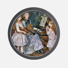 The Daughters of Catulle Mendès Wall Clock