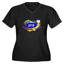 RT I did it 2013.PNG Women's Plus Size V-Neck Dark