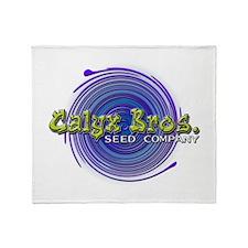 Calyx Bros. Seed Co. Throw Blanket