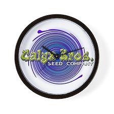 Calyx Bros. Seed Co. Wall Clock