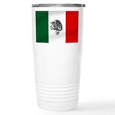 Mexican Soccer Flag Travel Coffee Mug
