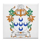 Hammond Coat of Arms Tile Coaster