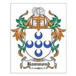 Hammond Coat of Arms Small Poster