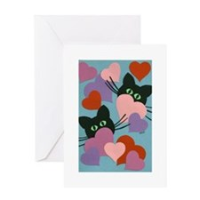 Kitty Love Greeting Card