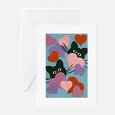 Kitty Love Greeting Cards (Pk of 10)
