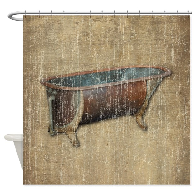 Antique Bathtub Shower Curtain By Iloveyou1