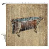 Antique Shower Curtains