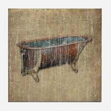 Antique Bathtub Tile Coaster