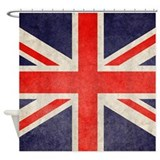 British flag Shower Curtains
