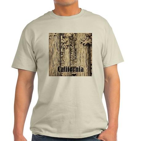 Vintage Sequoia National Park Light T-Shirt