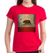 Grunge California Flag Tee