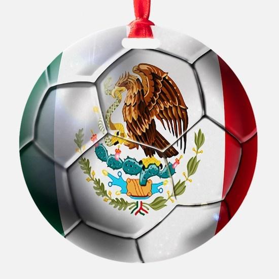 Mexican Soccer Ball Ornament