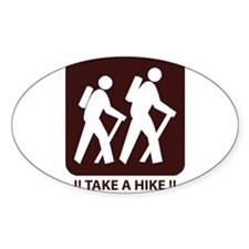 Unique Take a hike Decal