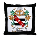 Hadsor Coat of Arms Throw Pillow