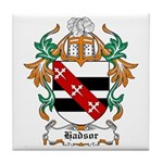 Hadsor Coat of Arms Tile Coaster