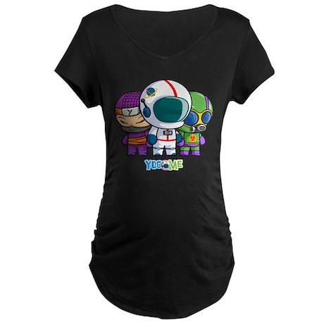 Little Heroes! Maternity Dark T-Shirt