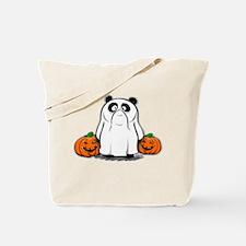 Panda Ghost Tote Bag