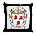 Gwynn Coat of Arms Throw Pillow